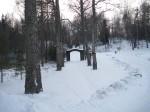 Osula kalmistu värav  Autor I. Raudvassar  Kuupäev  25.02.2009