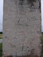 Carl Magnus von der Pahleni mälestussammas, reg. nr 22308. Vaade samba detailile. Foto: Anne Kaldam, kuupäev  06.09.2006