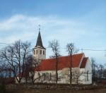 Pühalepa kirik, vaade  lõunast Autor K.Koit Kuupäev  10.12.2016