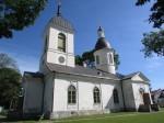 Kuressaare Nikolai kiriku lõunapoolne külg. Foto: K. Saks, 16.06.2016