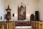 Sisevaade altari suunas. Foto: Marju Raabe, 18.04.2014