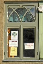 Väiksem aknatüüp lääneseinas. Foto: Hanna Selvet 26.08.2011