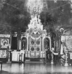 Kaasani kiriku interjöör. Foto: Avo Sillasoo. ca 1970.aa