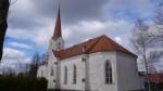 Mustvee kirik  Kuupäev: 12.04.2017 Foto: Sille Raidvere