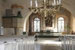 Vaade kirikus altari suunas. Foto: Marju Raabe, 20.10.17