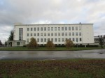 Rakvere ühisgümnaasiumi hoone, vaade läänest. Foto: M.Abel, kp 17.11.17