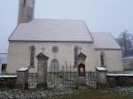 Väike-Maarja kirikuaia piirdemüür, vaade peaväravale. Foto: M.Abel, kp 22.11.17