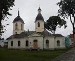 Kuressaare Nikolai kiriku lõunapoolne fassaad enne restaureerimist. Foto: Keidi Saks, 19.09.2017