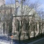 Oleviste kirik 1990. aastatel. Foto: Eesti Rahva Muuseum