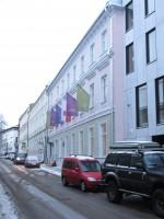 Ülikooli 14 ajaloomälestise tänavavaade. Foto Egle Tamm, 22.01.2018.