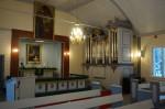 Nõmme Rahu 2017.a restaureeritud interjöörid, altarimaalid ja Kessleri orel uues värvilahenduses. Foto: Eero Kangor, 23.01.2018