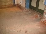 Kuremaa mõisa peahoone Fuajee restaureerimine. Põranda avamine enne valamist. Foto: Sille Raidvere  Aeg: 16.01.2018