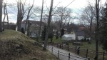 Paide vanalinna muinsuskaitseala, Tallinna tänava vaade linnuse edelabastionilt. Foto: K. Klandorf 25.04.2018.
