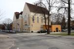 Kroonuaia 7 Tartu Kesklinna Kooli vanim hooneosa, ehitismälestis. Foto Egle Tamm, 29.04.2018.