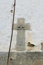 Raiddetail kiriku põhjaseinas. Foto 30.08.2012