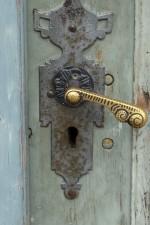 Endise palee peaukse ukselink. Foto 30.08.2012