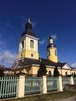 Jekateriina kirik Võrus. Foto Dan Lukas 24.04.2018