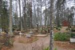 Iisaku kalmistu ja kabel. Foto: Kalle Merilai 31.10.18
