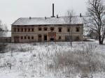 Vao mõisa viinavabrik. Foto: Raili Uustalu 29.11.2018. Vaade hoonele edelast.