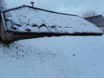 Udriku mõisa kelder. Foto: Raili Uustalu 07.12.2018. Vaade keldri küljele edelast.