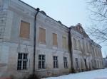 Liigvalla mõisa peahoone. Foto: Raili Uustalu 31.12.2018. Vaade hoone tagaküljele kagust.