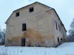 Kihlevere mõisa peahoone. Foto: Raili Uustalu 03.01.2019. Vaade hoonele idast.