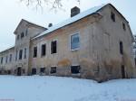 Kihlevere mõisa peahoone. Foto: Raili Uustalu 03.01.2019. Vaade hoonele kagust.