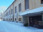 Vinni mõisa peahoone. Foto: Raili Uustalu 24.01.2019. Vaade hoone esiküljele.