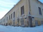 Vinni mõisa peahoone. Foto: Raili Uustalu 24.01.2019. Vaade hoone idapoolsele küljele.