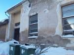 Vinni mõisa peahoone. Foto: Raili Uustalu 24.01.2019. Vaade hoone lõunapoolsele küljele.