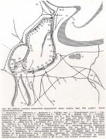Tallinna keskaegsed kindlustused lõplikul kujul plaanil. Rein Zobeli joonis 1980.