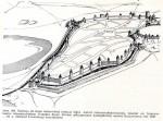 Tallinna keskaegsed kindlustused lõplikul kujul vaates. Rein Zobeli joonis 1980.