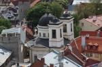 Kiriku vaade Oleviste kiriku tornist. Foto: Henry Kuningas, mai 2018.a.