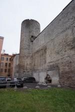 Toompea linnuse põhjamüür. Foto: Eero Kangor, 9.11.2017