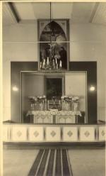 Nõmme Rahu kiriku altar 1936.a.