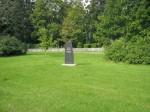 kalmistu juurde paigaldatud mälestussammas Kalli Pets 15.09.2009