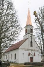 Saarde kirik. Foto: Peeter Säre, 2017