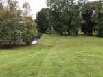 Viimsi mõisa park. Foto: Raili Uustalu 02.10 2019. Vaade peahoone tagant pargi suunas (hoone kesktelg).