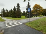 Viimsi mõisa park. Foto: Raili Uustalu 02.10 2019. Vaade pargi lõunapoolsemale osale. Kõnniteed on ehitatud rohualale.