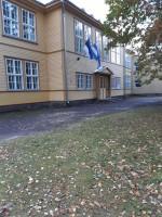 Kärdla koolimaja, vaade  põhjast  Autor K.Koit  Kuupäev  04.10.2019