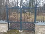 Aruküla mõisa pargi värav. Foto: K. Klandorf 20.01.2020.