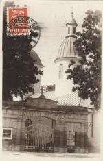 Eesti! - Suvituskoht Kuressaar. Ap. õigeusu kirik.  Fotopostkaart 1930. aastatest. Foto: O.Haidak.
