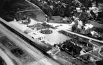 Vaade Haapsalu raudteejaamale õhust, foto pärineb 1930datest