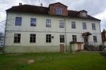 Valga linnakooli hoone. Vaade tagafassaadile. Foto M. Sein, 19.05.2020