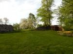 Luke mõisa pargi vaade viljapuuaiale. Foto autor I. Raudvassar 30.05.2020.