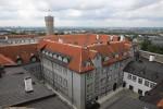 Vaade Riigikogu hoonele Landskrone tornist. Foto: H.Kuningas 06 2020