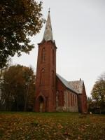 Äksi kirik. Foto autor I. Raudvassar 12.10.2020.