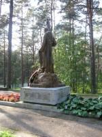 II Maailmasõjas hukkunute ühishaud. Tõnis Taavet, 08.09.2009.