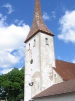Rakvere kirik :reg. nr.15732vaade lõunast- uuendatud 2010a torniluukidele  Autor Anne Kaldam  Kuupäev 04.06.2010