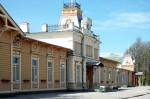 Haapsalu raudteejaam    Autor Tõnis Padu    Kuupäev  22.05.2005